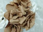 Tutorial bouquet ecologico romantico manici delle borse carta