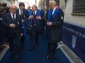 """Ermanno scervino celebra l'arte italiana azzurri. """"blue carpet"""": scatto speciale david michelangelo"""