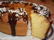 Ciambella Fluffosa Chiffon cake agli agrumi.