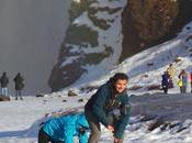 Viaggio Islanda: camminando ghiaccio alla cascata Skogafoss, riflessioni leggende