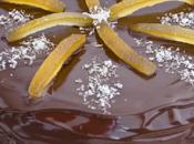 Torta all'arancia cioccolato
