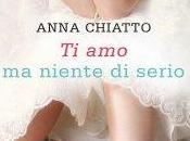 ANTEPRIMA Niente Serio Anna Chiatto