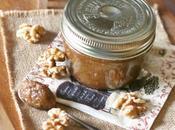 Burro noci sciroppo d'acero alla cannella Maple cinnamon walnut butter