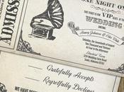 Partecipazioni matrimonio Vintage grammofono protagonista