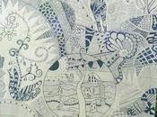 """Quadro Z.I.A. (Zentangle Inspired Art) """"INIZIATIVE CORSO"""""""