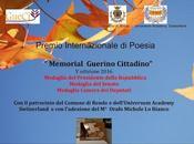 """Premio Internazionale Poesia """"Memorial Guerino Cittadino"""" 2016"""