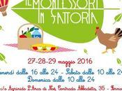 Torna Montessori Fattoria: giorni festa all'agrinido
