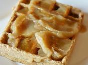 Waffles integrali allo yogurt confettura pastinaca Whole wheat waffles with parsnip butter