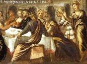 banchetti nella Bibbia attraverso l'arte. cibo abbraccia religione cultura.
