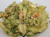 Primi: Pasta zucchine salmone