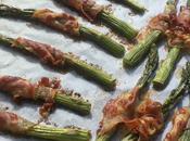 Asparagi forno pancetta