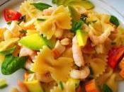 Pasta fredda avocado gamberetti surimi