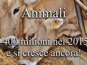 milioni animali risparmiati 2015, botto!