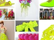 Neon Wedding: tendenza l'estate 2016