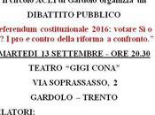 #referendumcostituzionale DIBATTITO PUBBLICO SETTEMBRE GARDOLO.
