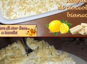 Tiramisù limone scaglie cioccolato bianco