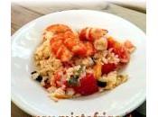 Risotto gamberi verdure miste: ricetta menu Mistofrigo.it