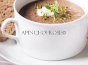 Mushroom Chestnut soup