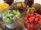 Panna cotta bicchiere frutta stagione