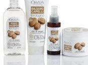Chioma luminosa splendente anche estate, linea capelli all'Olio Argan OMIA