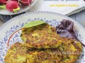 Gallette patate, fagiolini basilico (Gluten free)