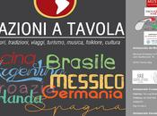 """agosto prima edizione festival """"Nazioni Tavola"""" Cinque giorni all'insegna dell'arte tutte forme"""