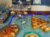 buffet della festa Frozen
