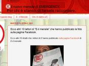 """lavoro tengo modo particolare: blog """"E"""", rivista mensile Emergency."""