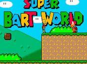 Super Bart World: Mario World protagonista