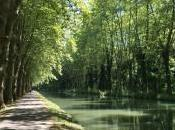 Francia bici luci ombre fuor metafora) canale della Garonna