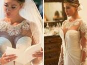 Abiti sposa: scollo cuore sicuro