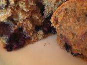Blueberry vegan muffins