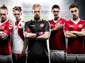 Danimarca, maglia 2016-2017 hummel