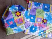 Back school Come cucire sacchetti stoffa l'asilo doppio tutorial