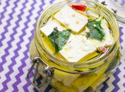 Feta greca marinata menta peperoncino