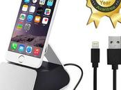 Avantree: Carica batterie Scrivania Alluminio iPhone Plus,
