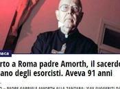 Della diseducazione civile dell'apologia della superstizione Italia pessimo esempio programma FORUM (Canale alla morte Padre Amorth. Considerazioni riflessioni.