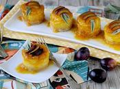Mini Cheesecake Salati alla Zucca Grana Coulis Susine Tardive Malvasia