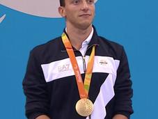 Oggi Federico Morlacchi sarà ricevuto Quirinale Mattarella. tutti medagliati 2016