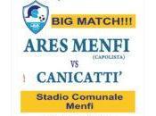Ares Menfi, domani match contro forte Canicattì