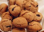 Biscottini d'avena cramberry