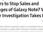 Galaxy Note usatelo. chiede Samsung