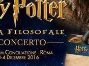 Harry Potter concert Prima assoluta italiana (2-3-4 dicembre, Auditorium Conciliazione)