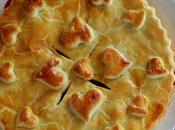 """Crostata Salata Cuore Palma """"Palmito"""""""