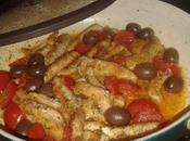 Pollo parmigiano pomodorini olive