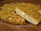Torta riso salata_ wurstel,melanzana stracchino cotta fornetto estense