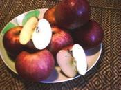 """omaggio alla """"Regina delle mele,"""" mela annurca Pasticcini Vesuvio"""