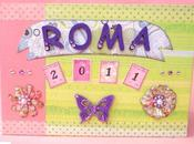 Mini Album ROMA completo pagine interne Rome mini with pages from start finish