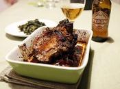 Costine maiale glassate birra Peroni Senza Glutine