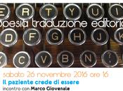 poesia traduzione editoria novembre Morlupo